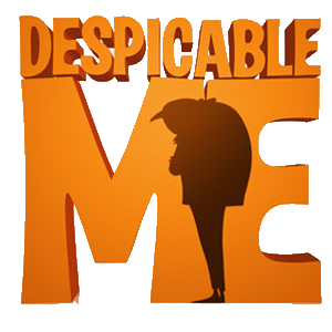 Image result for despicable me logo png