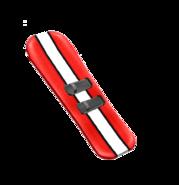 Snowboard prop