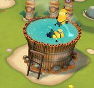Bath Tub Minions Paradise