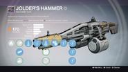 Jolder's Hammer