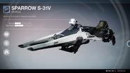 Sparrow S-31V UI