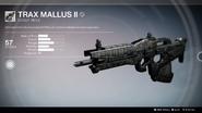 Trax Mallus II UI