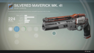 Silvered Maverick Mk.41