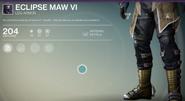 Eclipse Maw VI (Leg Armor)