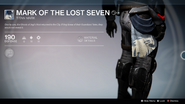 Mark of the Lost Seven UI