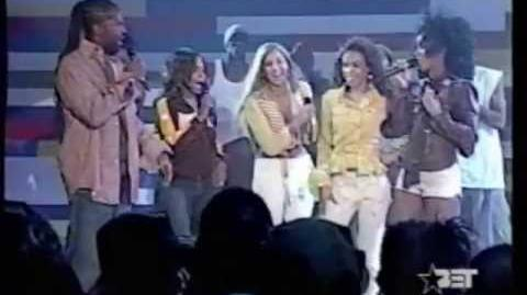 Michelle from Destiny Child Falls While Performing Soldier On 106 N Park