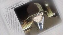 Hakuba as Sherlock Holmes