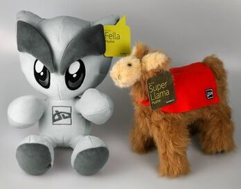 Fella and Llama Plushie Bundle