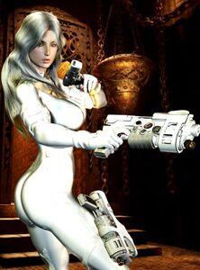 354px-Silver Sablinova (Earth-616) 001 Fan Art
