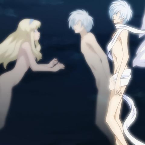 Set's soul leaving Azazel's body