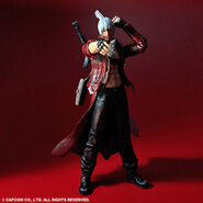 Play Arts Kai DMC3 Dante action figure