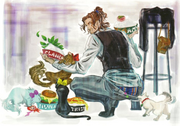 Luka and His Girls - Bayo1 Art
