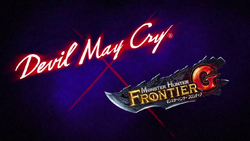 Devil May Cry Monster Hunter Frontier G Logo