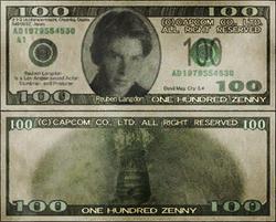 Capcom banknote