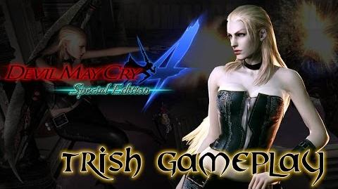 Devil May Cry 4 Special Edition - Trish PS4 Gameplay 60fps (DMC4) HD