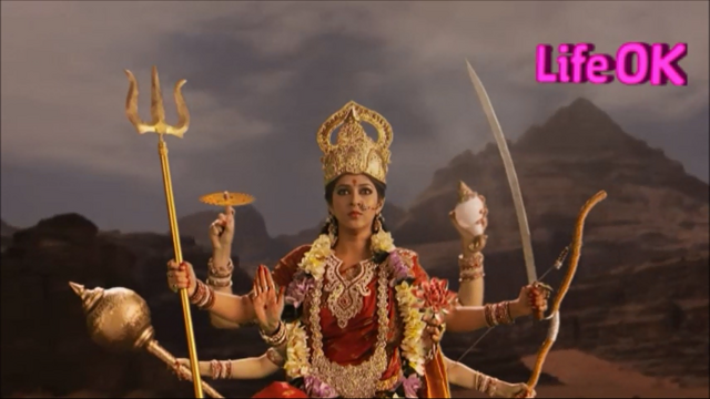 File:Goddess Durga is Determined To Kill Raktabeej.png