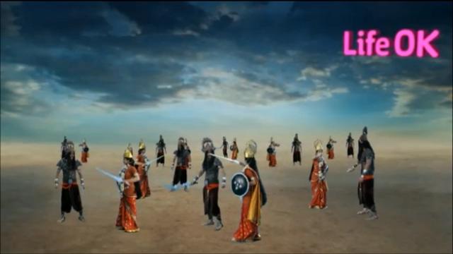 File:Goddess Durga's Female Warriors Fight Each Clone of Durgasur.png