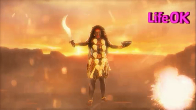 File:Kali Causing Destruction in The Battlefield.png