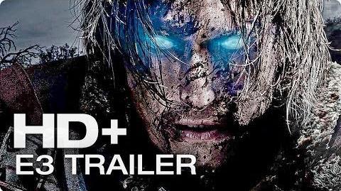 MITTELERDE Mordors Schatten E3 Trailer Deutsch German 2014 HD