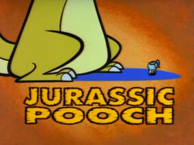 Jurassic Pooch Title Card
