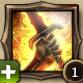 Skill burning blade