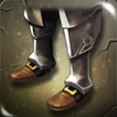 Battleworn Iron Greaves