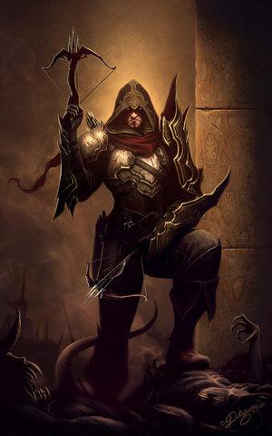 Archivo:Demon hunter diablo fan art by deligaris-d4p8nmc.jpg