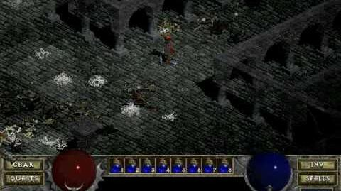 Diablo 1 spells - Charged Bolt (by Decimius)