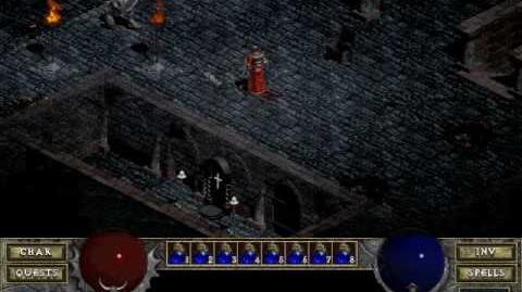Diablo 1spells - Stone Curse