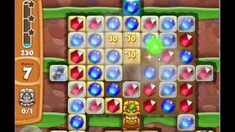 Level529(16 moves) - Diamond Digger Saga