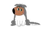 Sonja dressed as a Husky - DaA