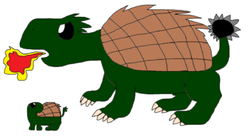 Pippy 2 - Turtle and Dragon Turtle forms