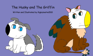 The Husky and The Griffin title screen