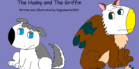The Husky and The Griffin (Di'angelo and Aza)
