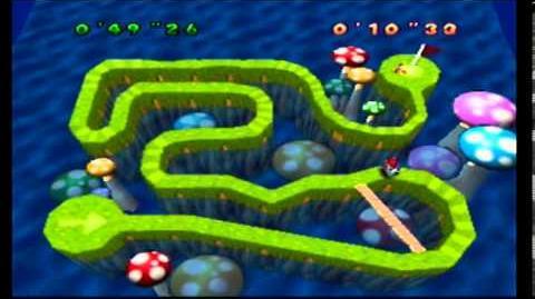 Mario Party- 1 Player Minigame - Bumper Ball Maze 1
