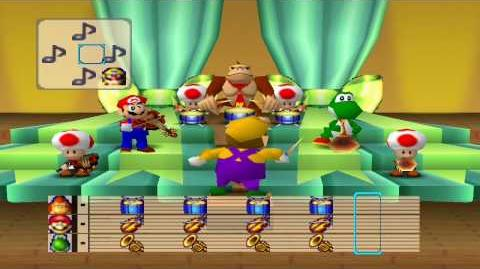 Mario Party 1 Mini Games - Mario Bandstand 2