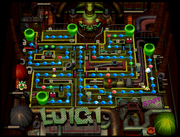 Luigi's Engine Room Map