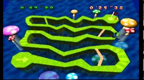 Mario Party- 1 Player Minigame - Bumper Ball Maze 2