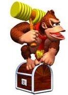 Donkey Kong Guarding Stash