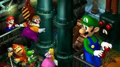 Mario Party Luigi's Engine Room