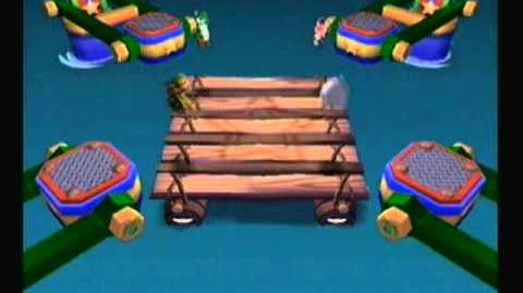 Mario Party 6 - Wrasslin' Rapids