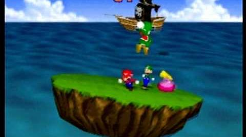 Mario Party- 4 Player Minigame - Bombs Away