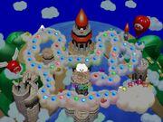 Mario's Rainbow Castle Map