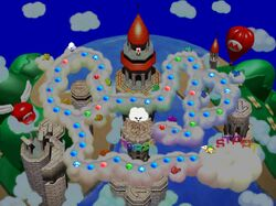Mario's Rainbow Castle Map