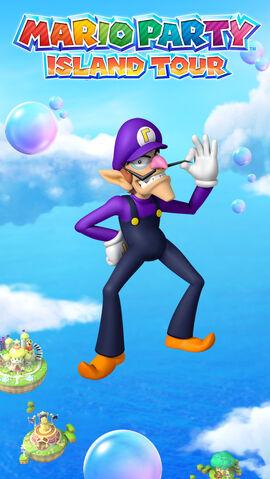 File:Mario Party Island Tour 640x1136 Waluigi.jpg