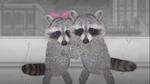 Raccoon and Mama-san reunite