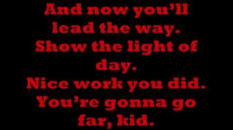 The Offspring - You're Gonna Go Far, Kid (Lyrics)