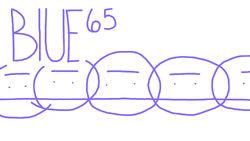 1. Blue 65