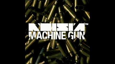 Noisia - Machine Gun (16 Bit Remix) (HD)