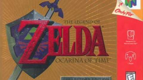 The Legend of Zelda Ocarina of Time - Shop Theme